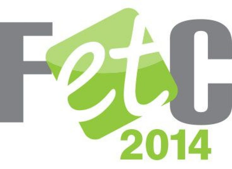 Driving inspiration through innovation - FETC 2014 LOGO