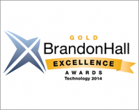 Hurix Digital wins the Brandon Hall excellence awards gold 2014, for its flagship product Kitaboo the digital publishing platform