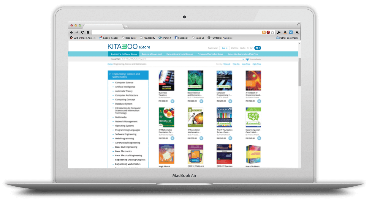 Own-branded-web-store - kitaboo ebook store features