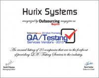 Hurix systems wins award for QA and testing-200x159