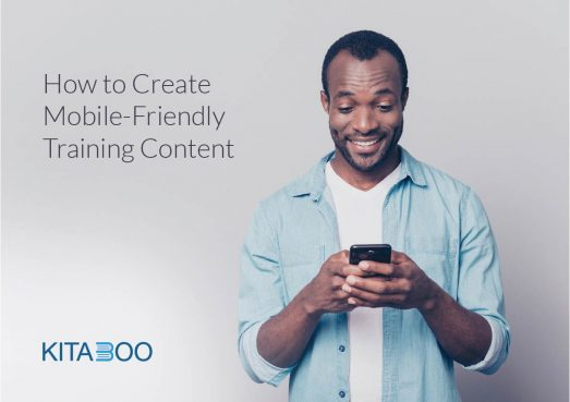 how to guide on mobile training content