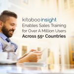 Kitaboo Insight Enables Sales Training for Over A Million Users Across 55+ Countries