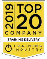 Top 20 Training Deivery Comapnies by Training Industry, 2019