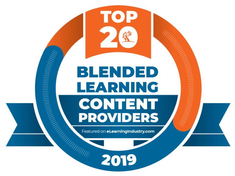 top 20 blended learning content providers